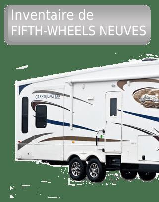 Inventaire de fifth-wheels neufs