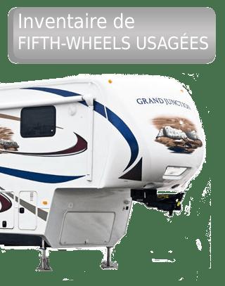 Inventaire de fifth-wheels usagées